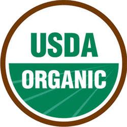 100% Organic - USDA Organic Logo