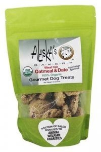 oatmeal date organic dog treats