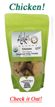 chicken flavor dog treats