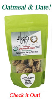 oatmeal dog treats